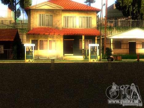 Base de Grove Street pour GTA San Andreas deuxième écran