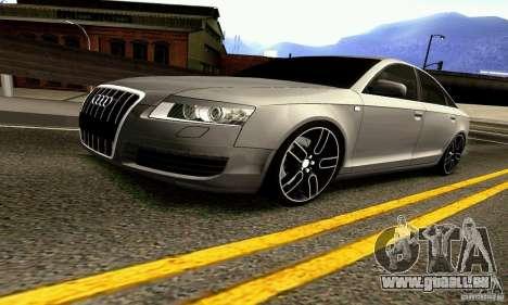 Audi A6 Blackstar pour GTA San Andreas vue de côté