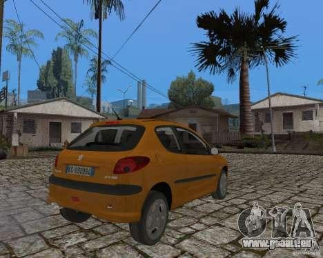 Peugeot 306 pour GTA San Andreas laissé vue