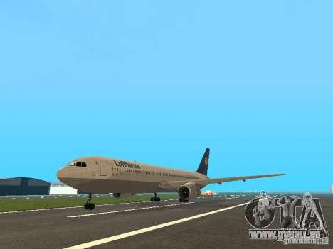Boeing 767-300 Lufthansa pour GTA San Andreas