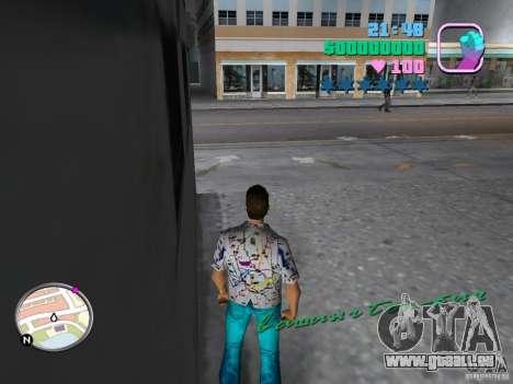 Nouveaux skins Pak GTA Vice City pour la troisième écran