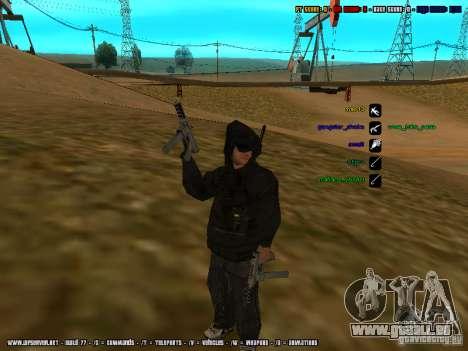 Trafiquant de drogue pour GTA San Andreas deuxième écran