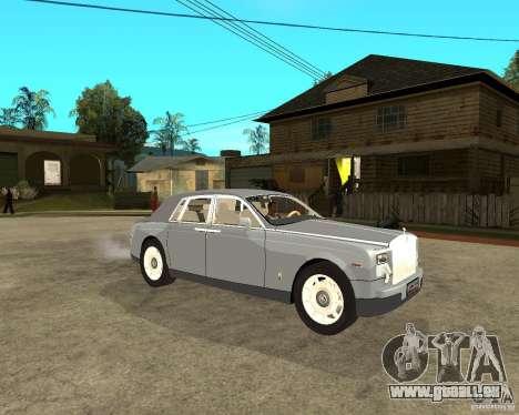 Rolls-Royce Phantom (2003) pour GTA San Andreas vue de droite