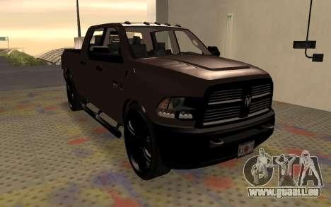 Dodge Ram 3500 für GTA San Andreas rechten Ansicht