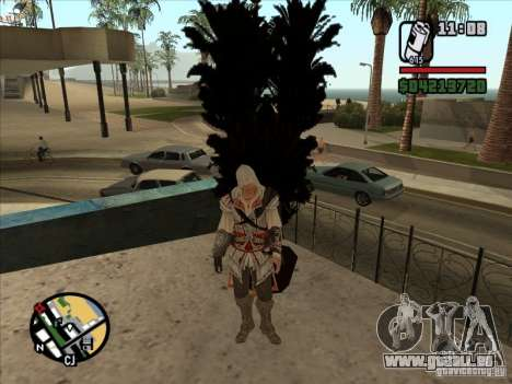 Ezio auditore de Firenze pour GTA San Andreas quatrième écran
