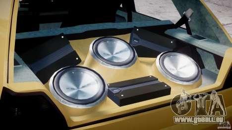 Volkswagen Golf MK2 Tuning pour GTA 4 est un côté