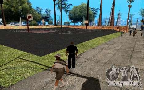 La nouvelle Cour de basket-ball pour GTA San Andreas cinquième écran