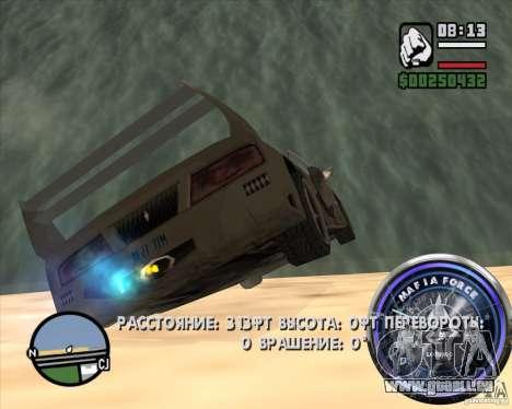 Tacho-2 für GTA San Andreas fünften Screenshot