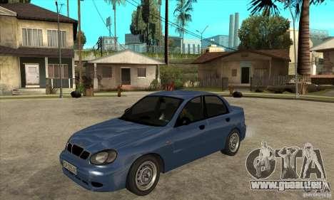 Daewoo Lanos v2 pour GTA San Andreas