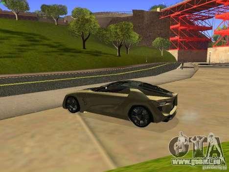 Bertone Mantide für GTA San Andreas rechten Ansicht