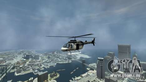 All new Tourmav pour GTA 4 est une vue de l'intérieur
