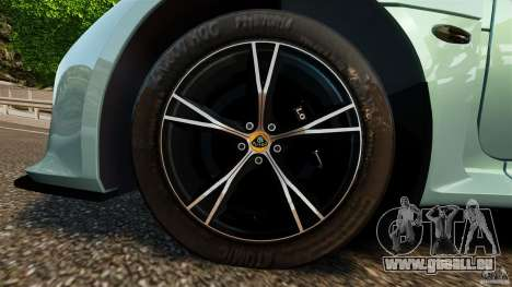 Lotus Exige S 2012 für GTA 4 Seitenansicht