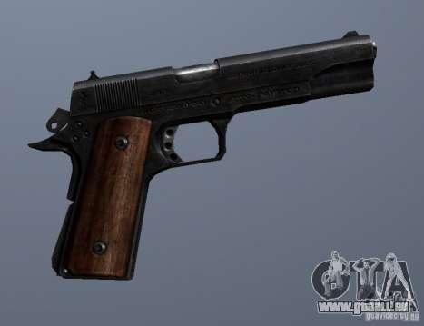 M1911 pour GTA San Andreas quatrième écran