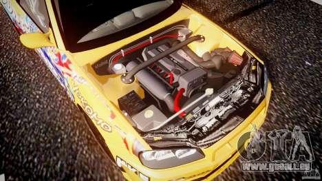 Nissan Skyline R34 GT-R Tezuka Goodyear D1 Drift für GTA 4 Unteransicht