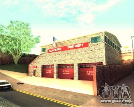 Eine neue Feuerwache in San Fierro für GTA San Andreas