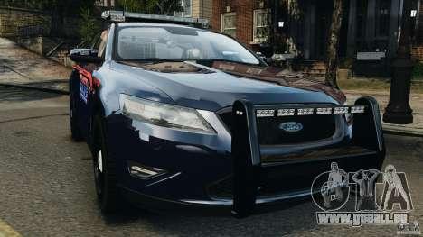 Ford Taurus 2010 Atlanta Police [ELS] pour GTA 4