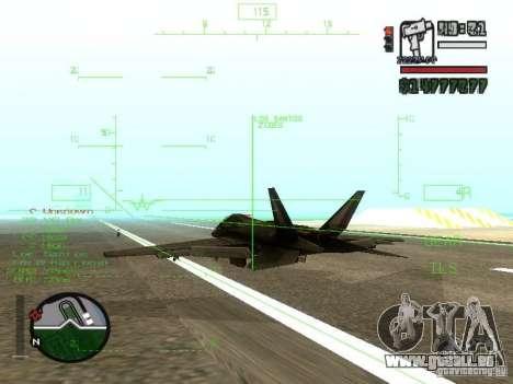 Xa-20 razorback pour GTA San Andreas vue de droite