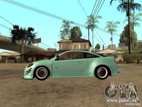 Chevrolet Cobalt SS NFS Shift Tuning pour GTA San Andreas laissé vue