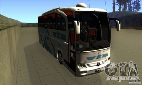 Mercedes-Benz Travego 15 SHD für GTA San Andreas Rückansicht