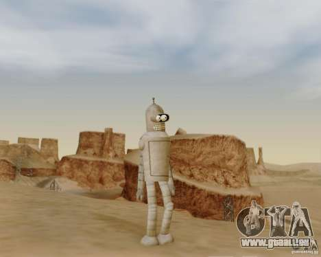Futurama für GTA San Andreas