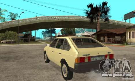 AZLK 2141 für GTA San Andreas zurück linke Ansicht