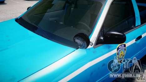 Ford Crown Victoria Classic Blue NYPD Scheme für GTA 4 Räder