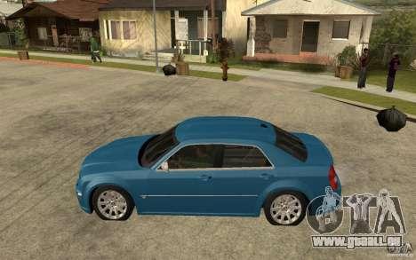 Chrysler 300C 6.1 SRT-8 2007 für GTA San Andreas linke Ansicht