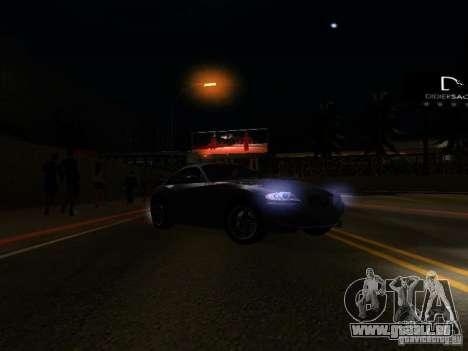 BMW Z4 M 07 für GTA San Andreas obere Ansicht