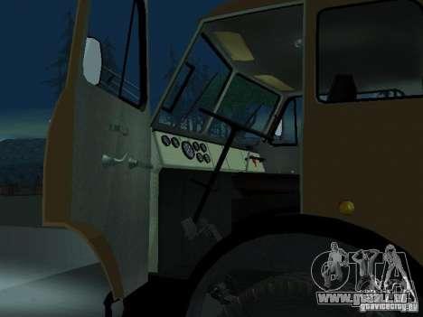MAZ TK-7, 5-500A für GTA San Andreas rechten Ansicht