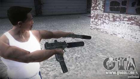 Weapon Pack by GVC Team pour GTA San Andreas troisième écran