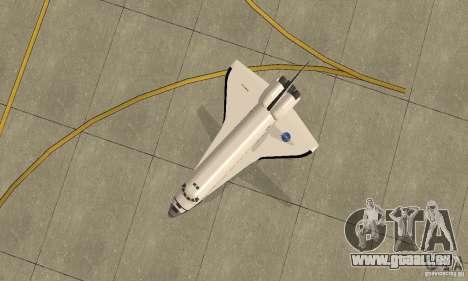 Space Shuttle Discovery pour GTA San Andreas vue de droite