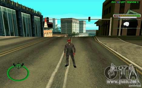 Mechanik HD Skin pour GTA San Andreas quatrième écran