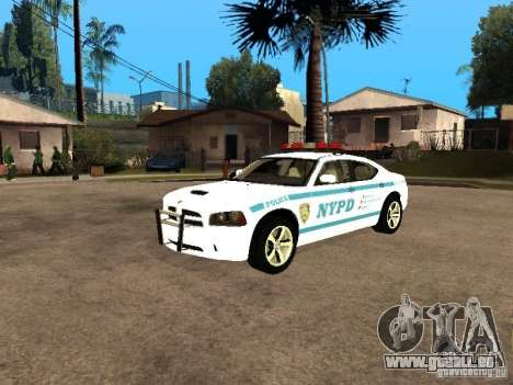 Dodge Charger Police NYPD für GTA San Andreas