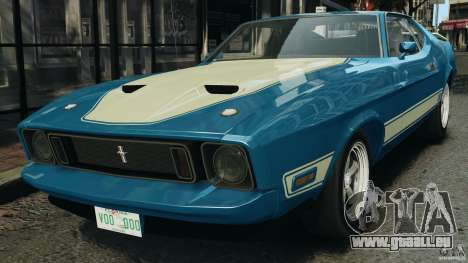 Ford Mustang Mach I 1973 pour GTA 4