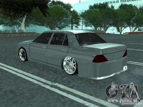 Toyota Crown S 150 TuninG für GTA San Andreas linke Ansicht