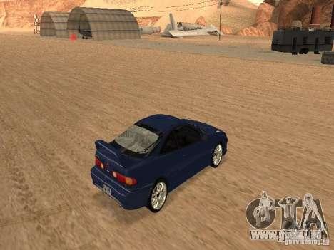 Acura RSX Light Tuning für GTA San Andreas Rückansicht