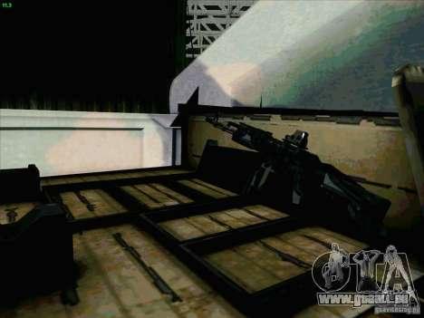 Hummer H1 pour GTA San Andreas vue de côté
