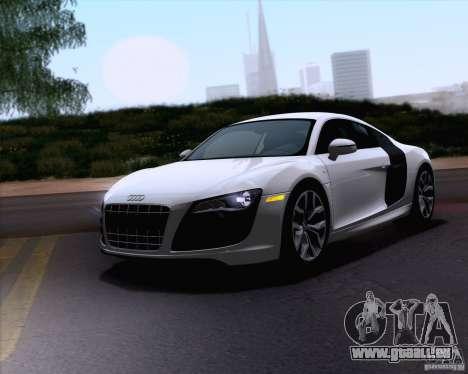 Audi R8 v10 2010 für GTA San Andreas