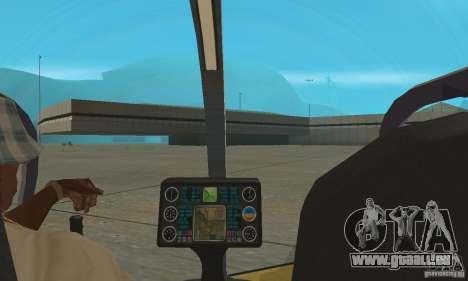 Dragonfly pour GTA San Andreas vue arrière