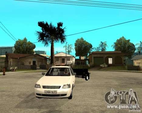 LADA 2170 Priora Light tuning und trailer für GTA San Andreas Rückansicht