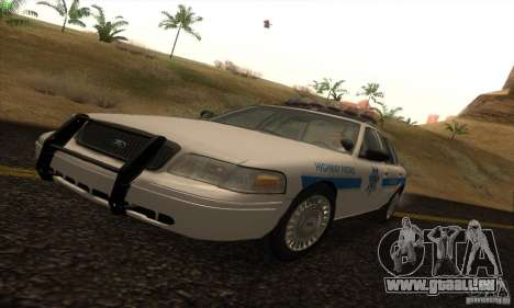 Ford Crown Victoria Arizona Police pour GTA San Andreas