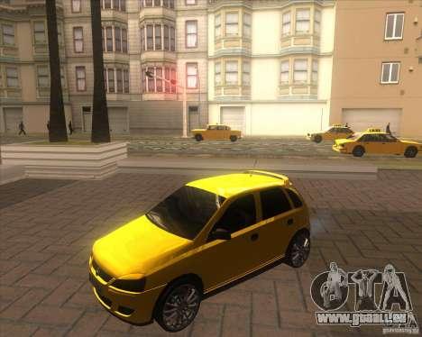 Opel Corsa C 2004 Deutsch style pour GTA San Andreas