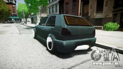 Volkswagen Golf 2 Low is a Life Style pour GTA 4 Vue arrière