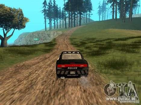 Dodge Charger Canadian Victoria Police 2011 für GTA San Andreas Innenansicht