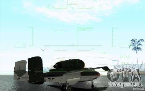 Henkel 162A Salamander pour GTA San Andreas vue de dessus