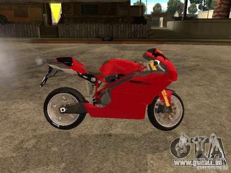 Ducati 999s pour GTA San Andreas laissé vue