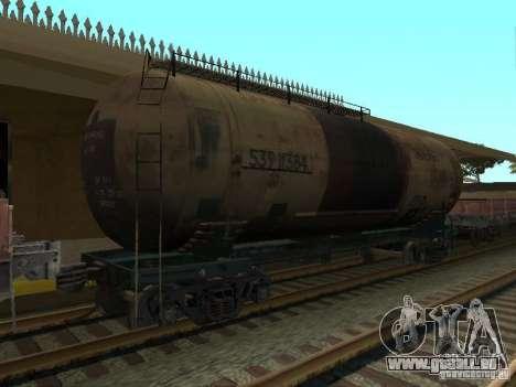 Tank Nr. 68Z 53911384 für GTA San Andreas linke Ansicht