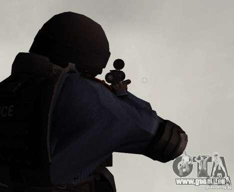 Fusil de GTA IV pour GTA San Andreas troisième écran