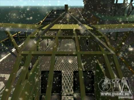 Avion du jeu derrière l'ennemi lignes 2 pour GTA San Andreas vue intérieure