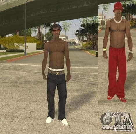Afro-American Boy pour GTA San Andreas